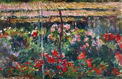 Obra de arte Jardim de Peônias de Claude Monet