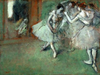 Obra de arte Um Grupo de Bailarinas de Edgar Degas