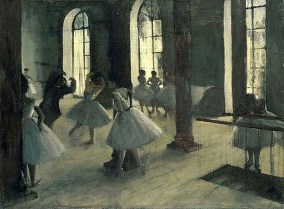 Obra de arte O Ensaio de Balé no Estúdio de Edgar Degas